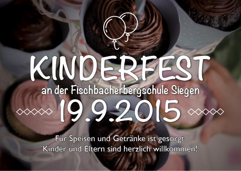 Kinderfest an der Fischbacherbergschule in Siegen
