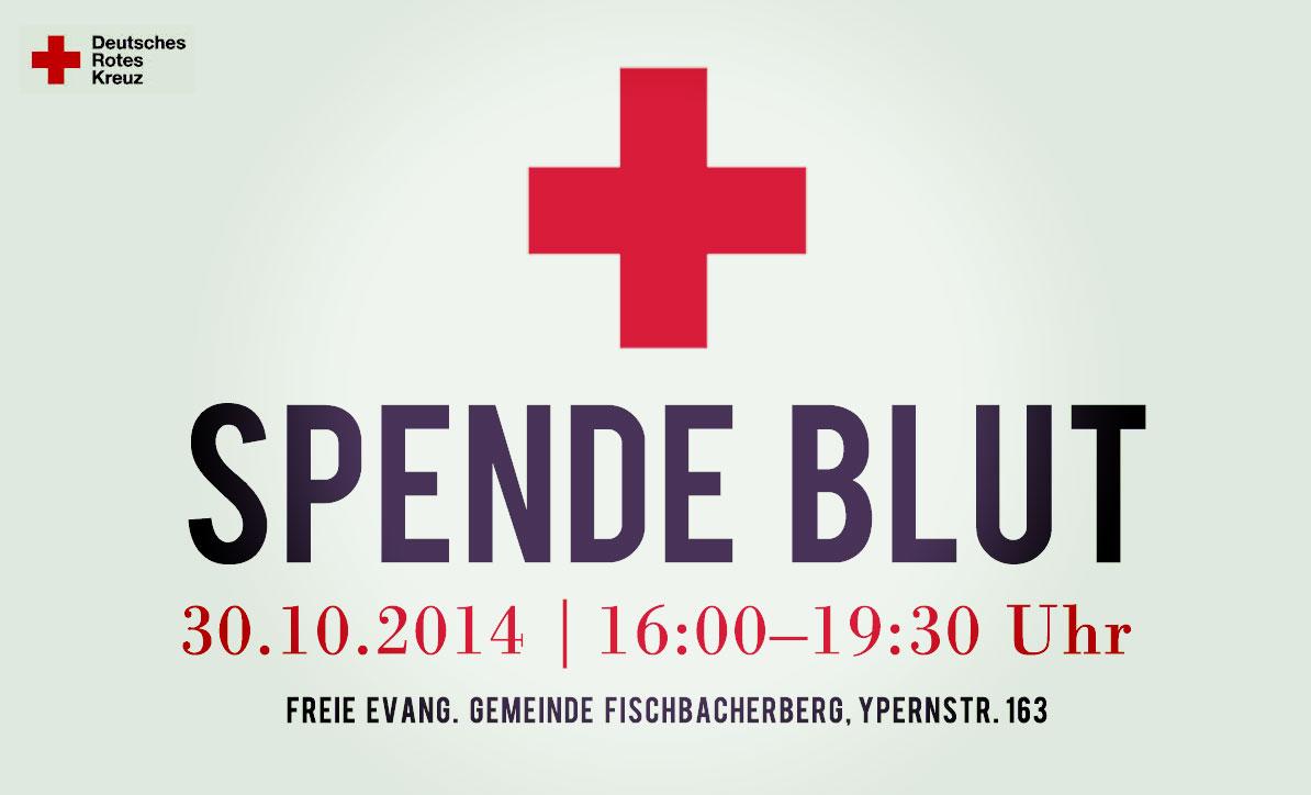 Jetzt vormerken: DRK-Blutspende am 30.10.2014