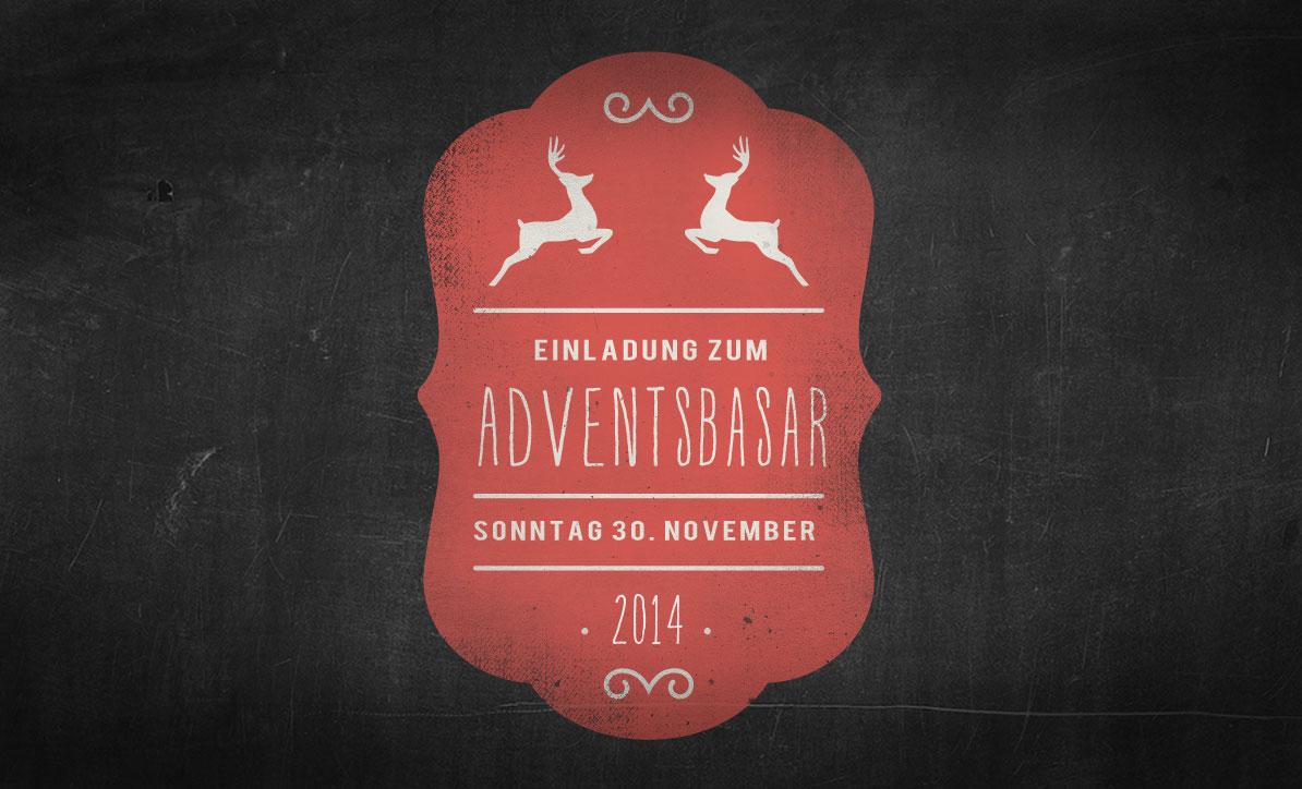 Herzliche Einladung zum Adventsbasar 2015