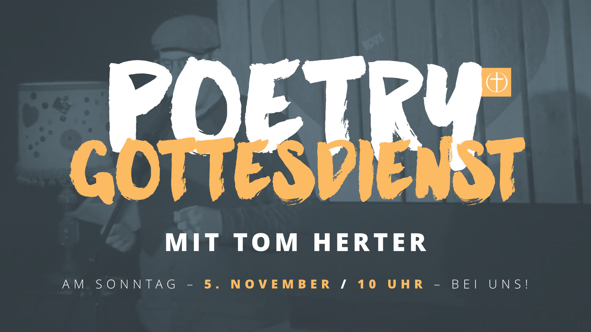 Poetry-Gottesdienst am 5.11.