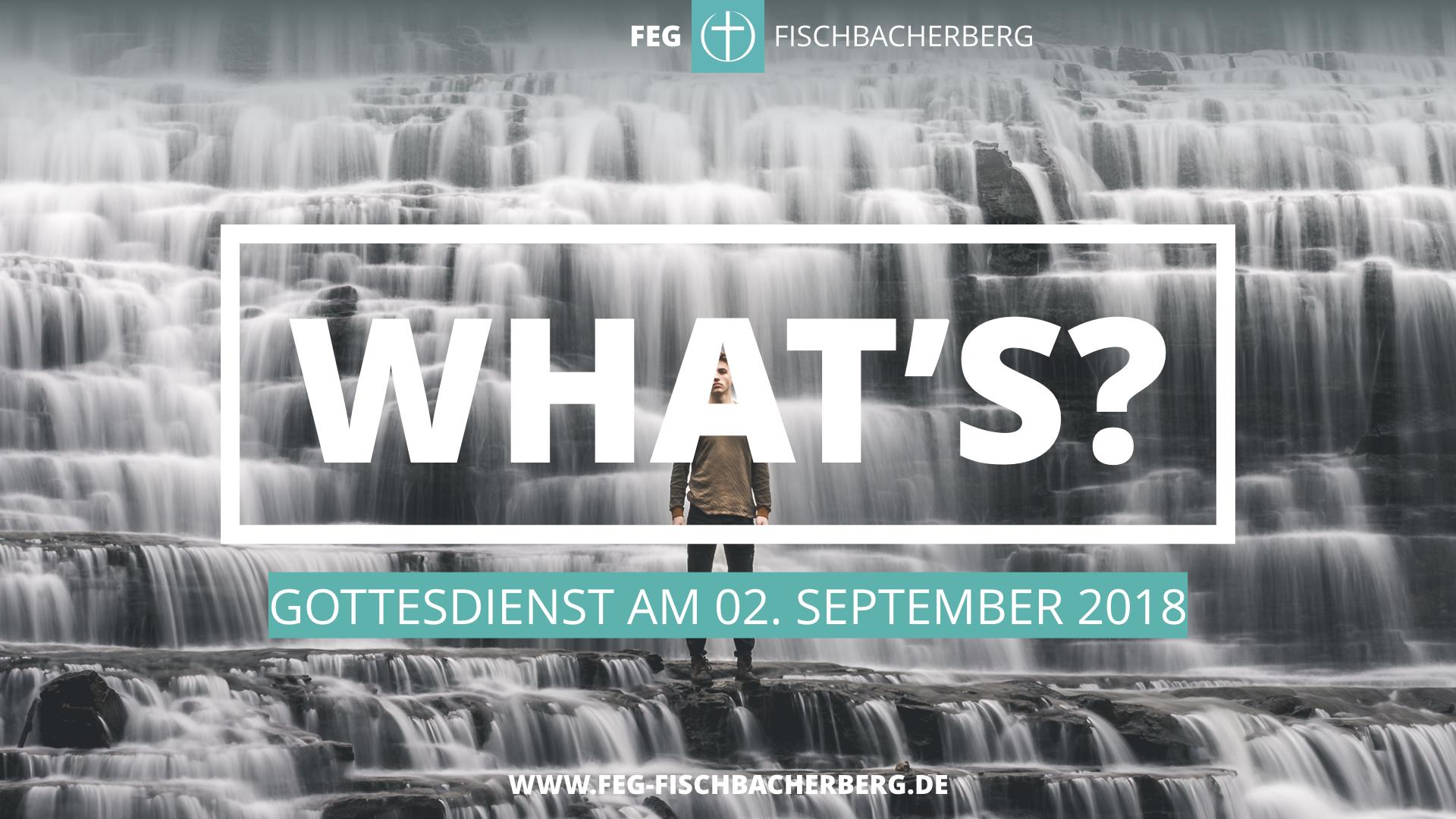 What's? Kleine Theologie des Segens