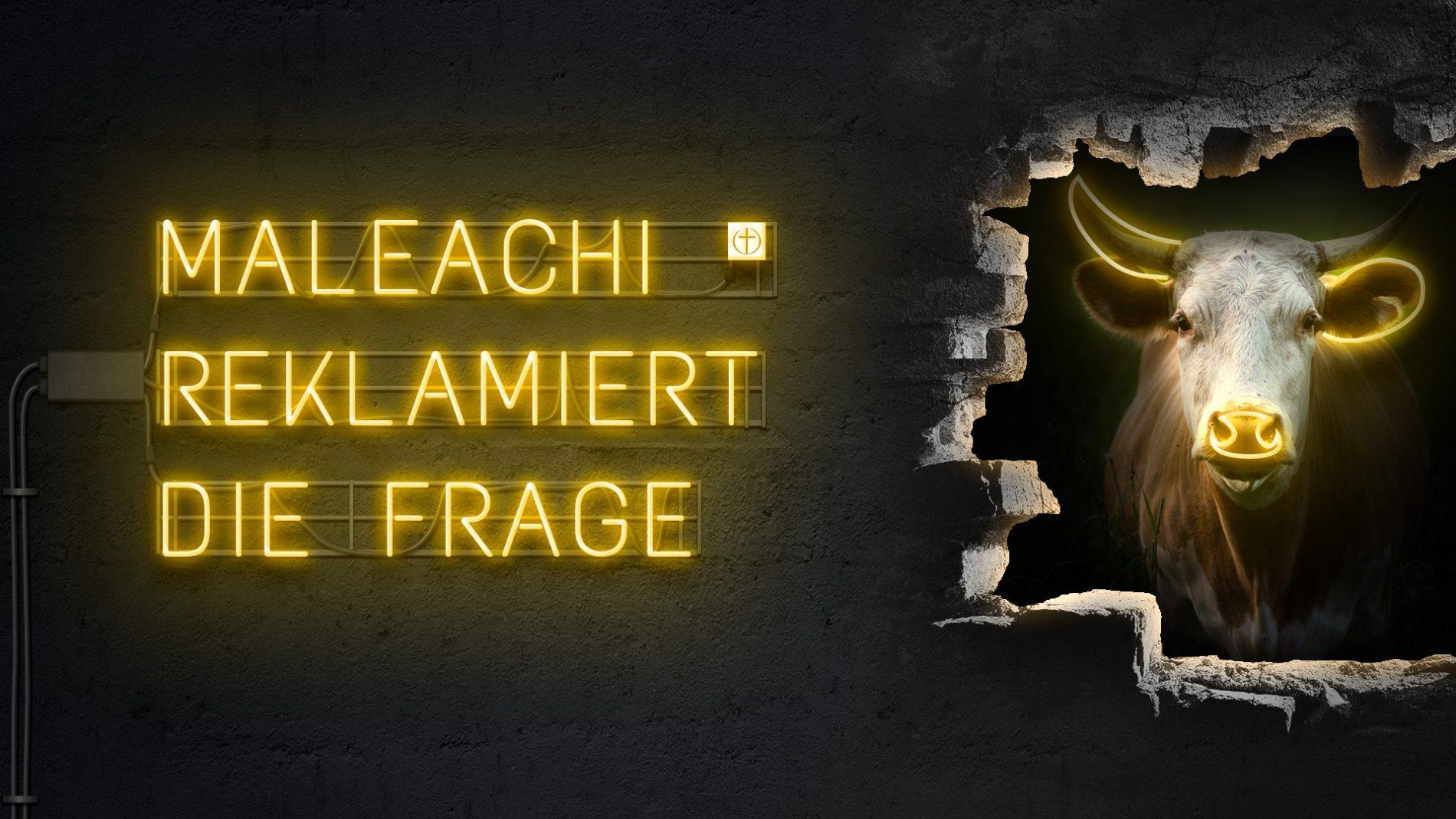 Maleachi reklamiert die Frage (Zwölf Propheten XII)