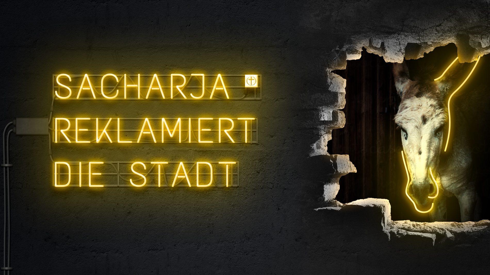 Sacharja reklamiert die Stadt (Zwölf Propheten XI)